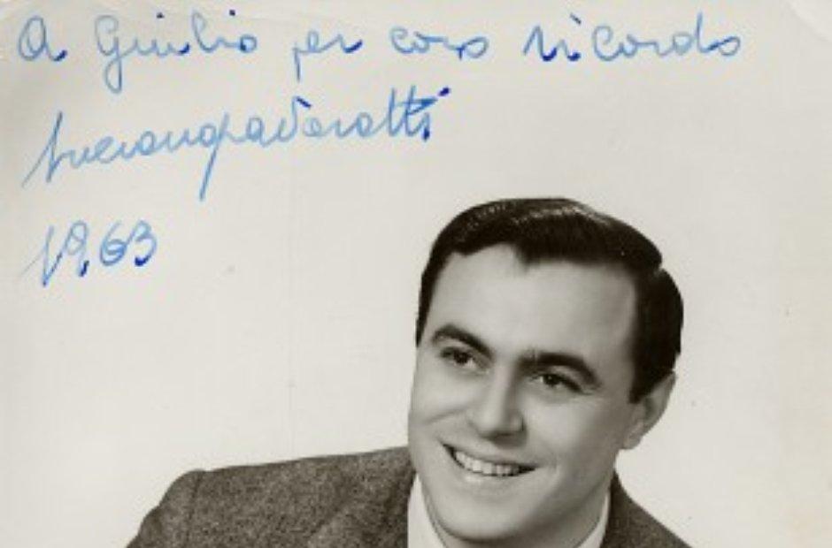 Luciano Pavarotti 1963