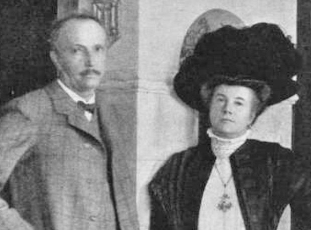 Richard Strauss Pauline de Ahna wife