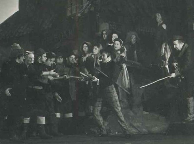 Peter Grimes 1945 production Sadlers Wells