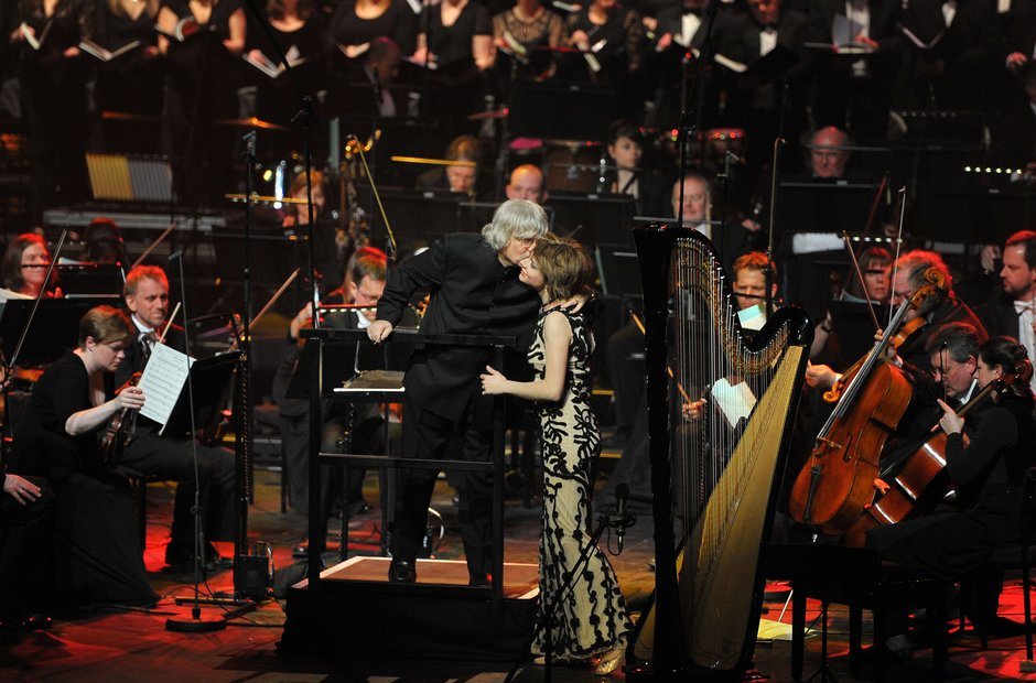 Karl Jenkins and Catrin Finch at Classic FM LIve 2
