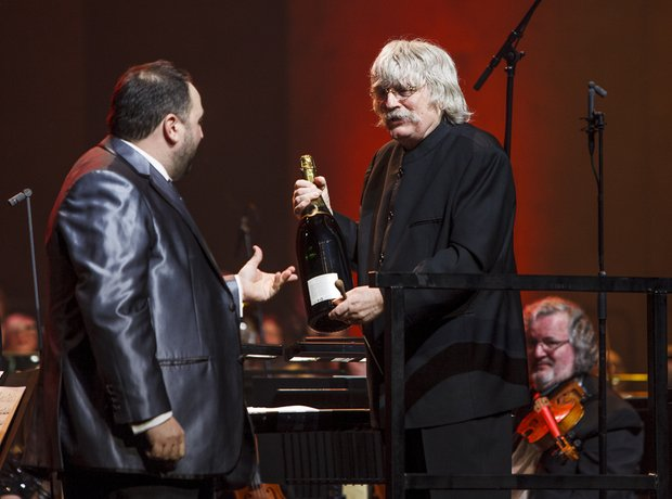 Wynne Evans and Karl Jenkins at theClassic FM Live