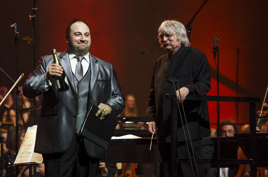 Wynne Evans and Karl Jenkins at Classic FM Live 20