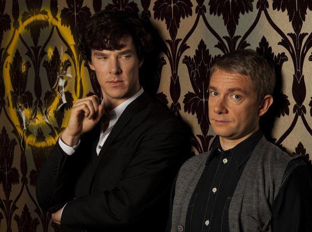 Sherlock Cumberbatch Freeman David Arnold