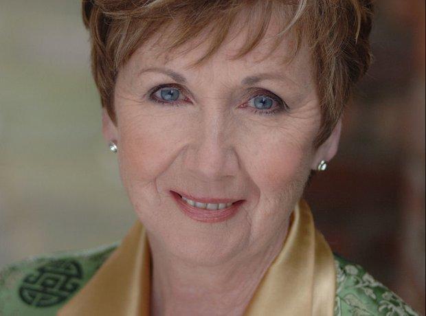 Irish mezzo-soprano Ann Murray