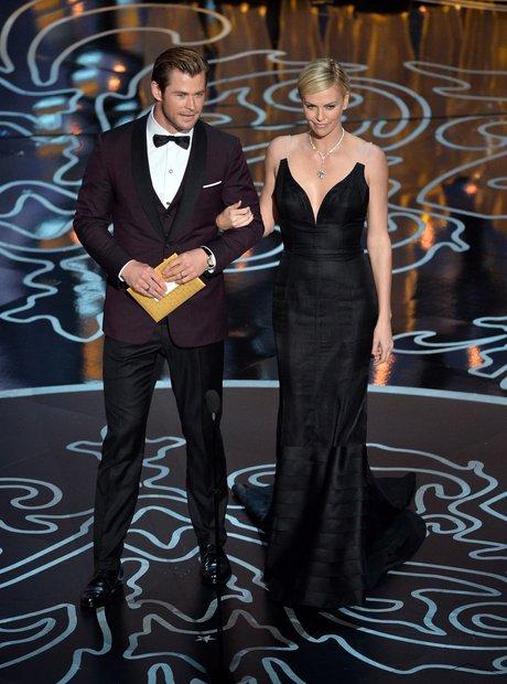 Chris Hemsworth and Charlize Theron Oscars 2014