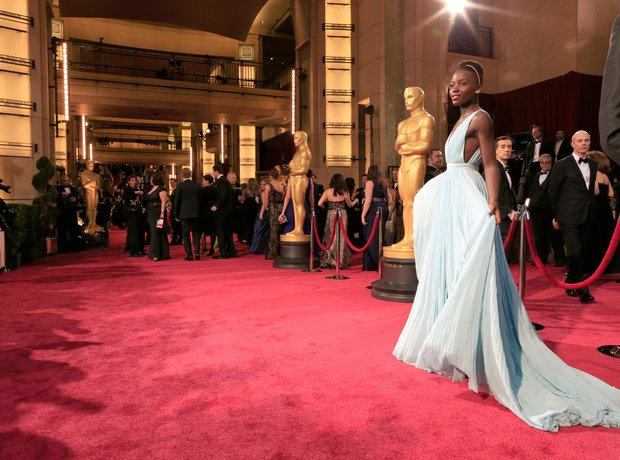Lupita Nyong'o at the Oscars 2014