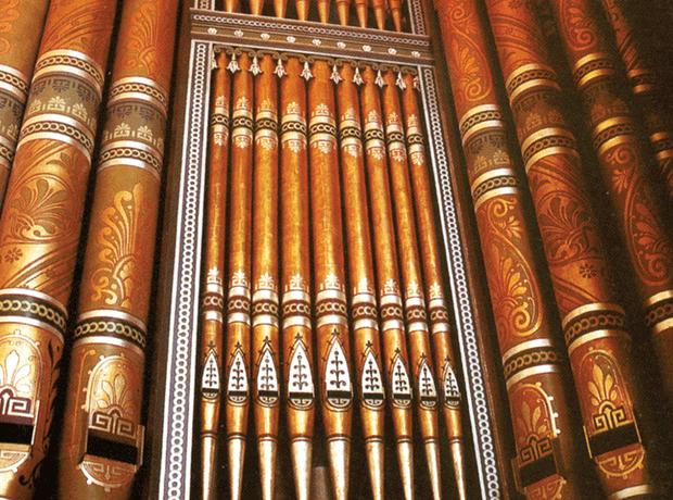Birmingham town hall organ