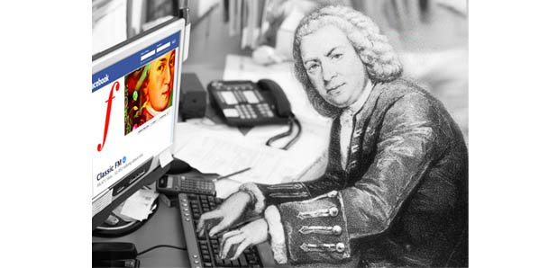 Bach on facebook