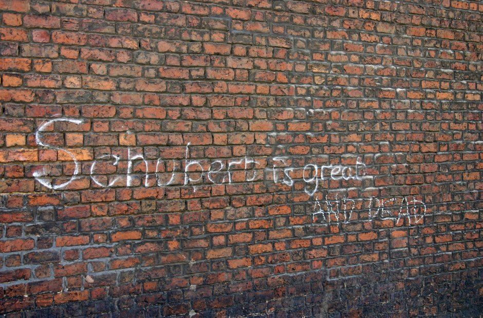 Classical music graffiti street art