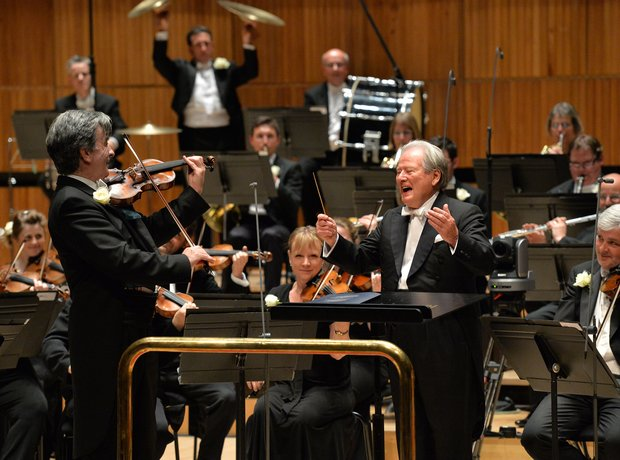 Kenneth Sillito Neville Marriner Festival Hall 90th birthday