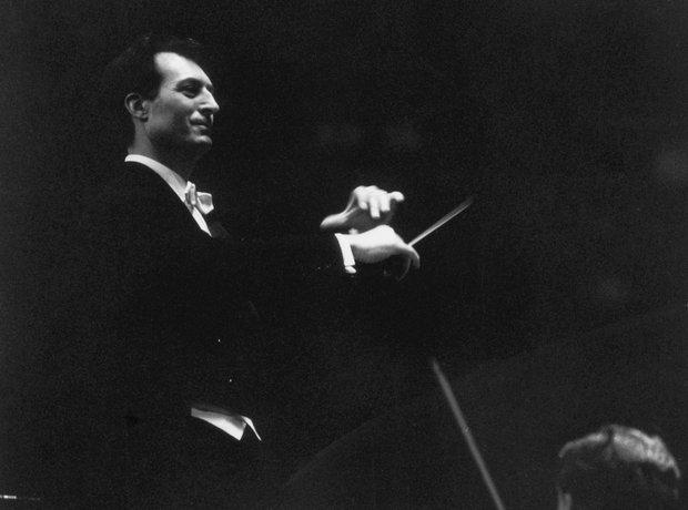 Carlo Maria Giulini conductor Accademia Santa Cecilia