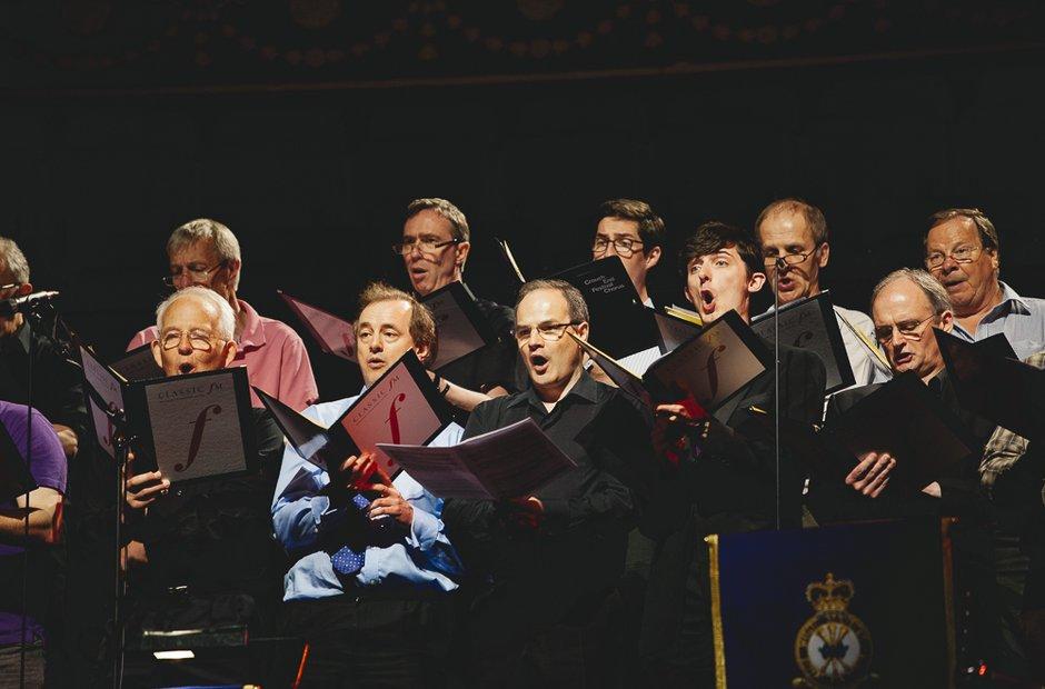 Crouch End Festival Chorus FM Live 2014 rehearsals