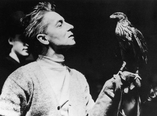 Herbert von Karajan conductor eagle