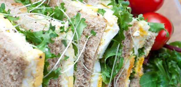 egg cress sandwich