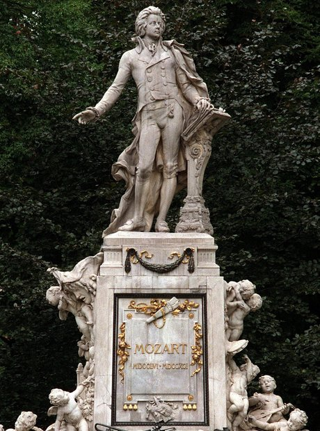 Vienna Mozart monument Getty