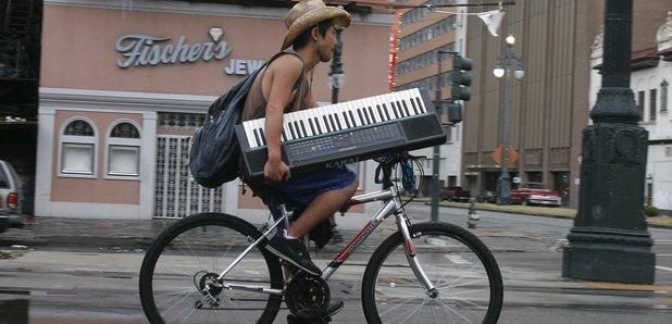 cyclist keyboard