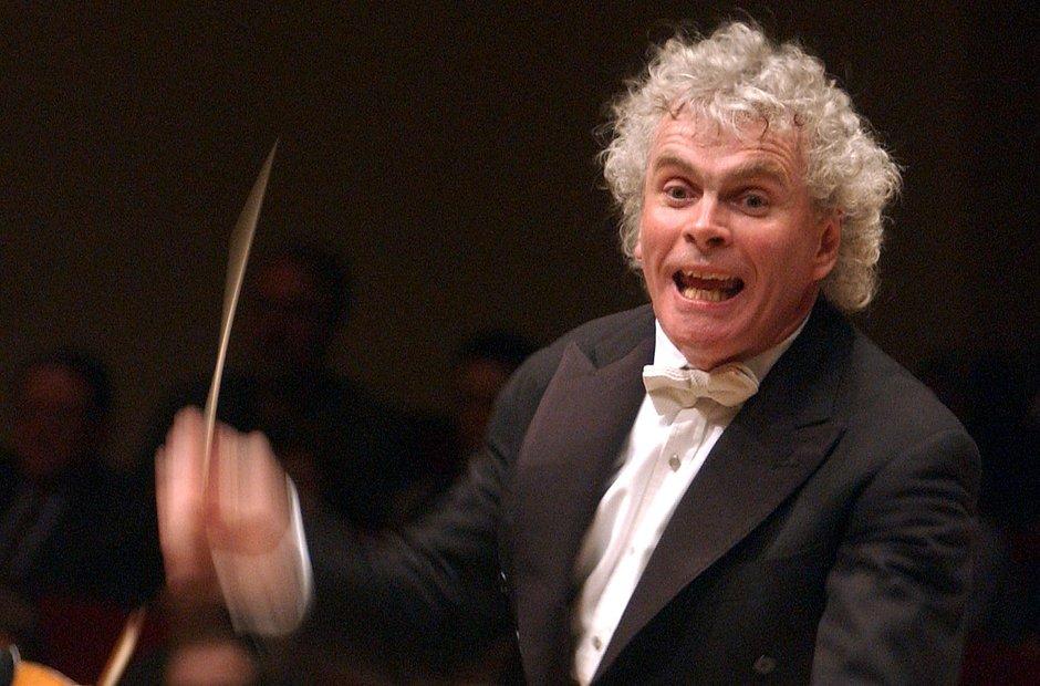 Sir Simon Rattle Carnegie Hall Berlin Philharmonic