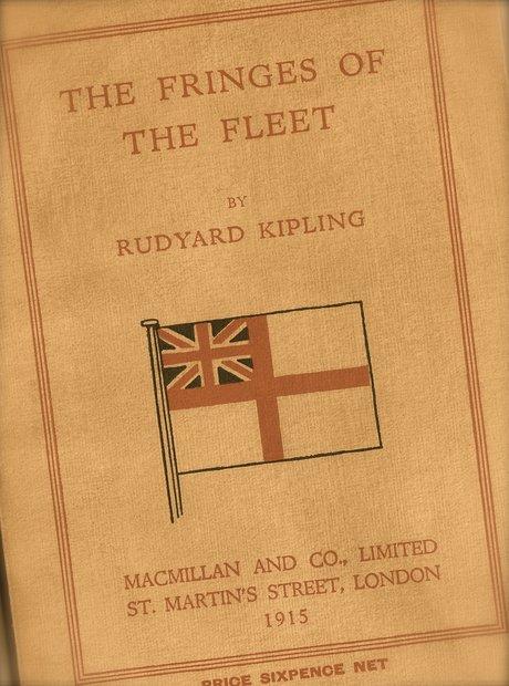 Fringes of the Fleet Kipling Elgar