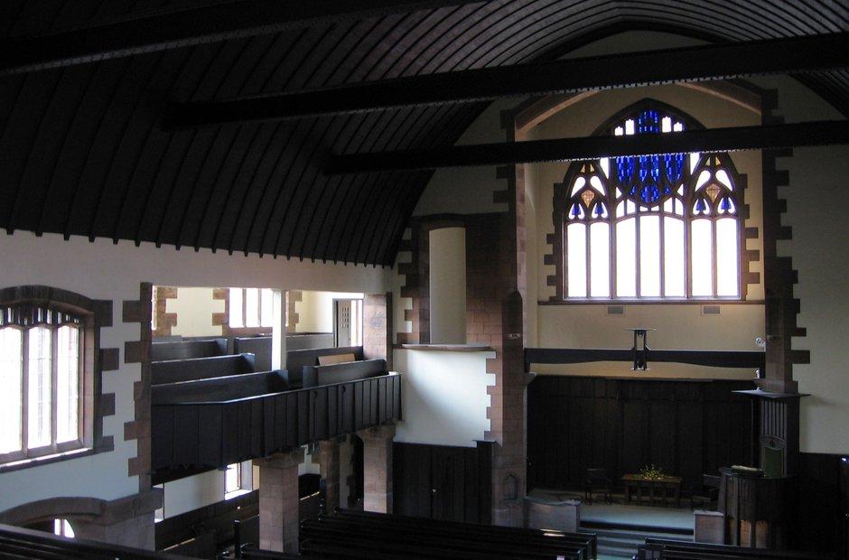 Glasgow Mackintosh church Queens Cross