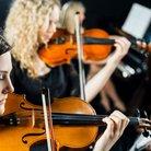 orchestra, violins