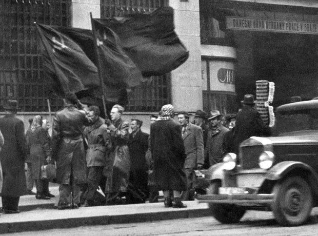 Communists Prague 1948