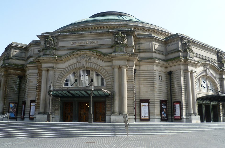 Edinburgh venues Scotland Festival Usher Hall