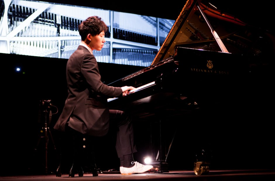 Ji Liu at the Bristol Proms