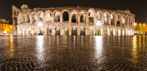 Verona amphitheatre rain arena opera