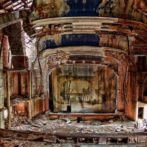Abandoned concert halls