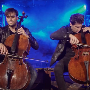 2cellos iron maiden rossini video