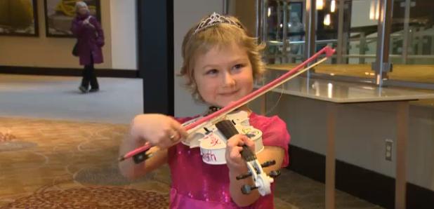 kayla st laurent violin