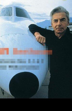 Karajan plane album cover