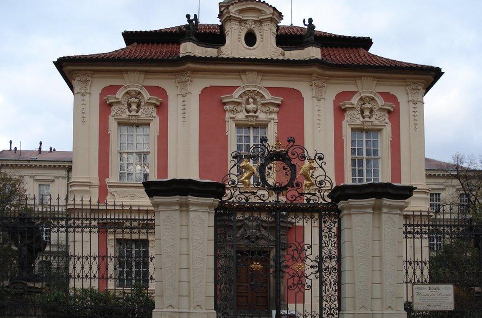 Prague classical music venues Villa Amerika