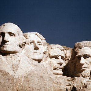 Rushmore Washington Jefferson Roosevelt Lincoln