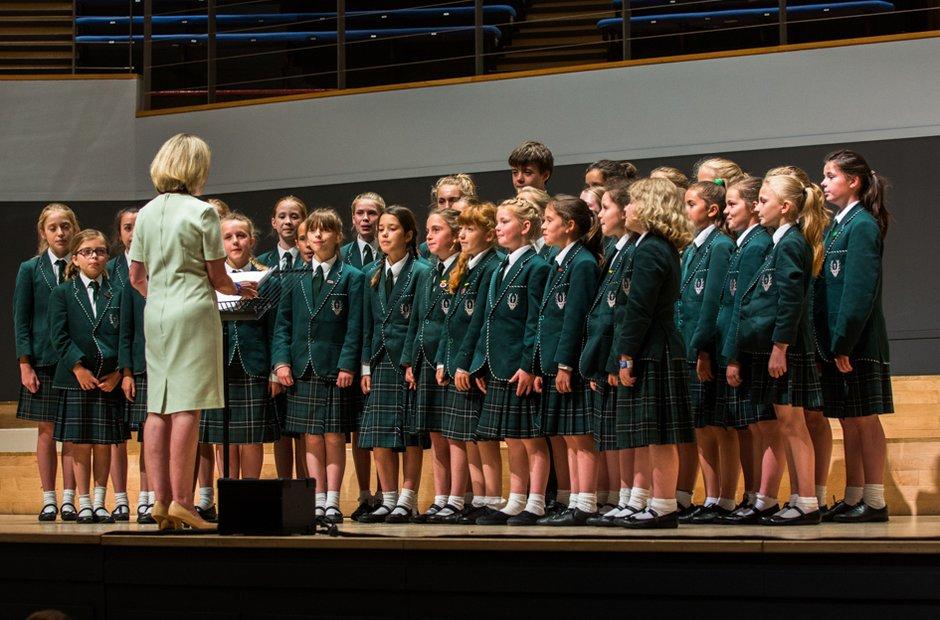 Spratton Hall School Choir