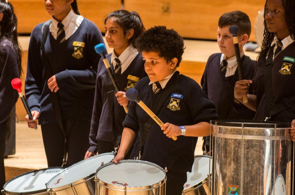 The Earls High School Samba Band