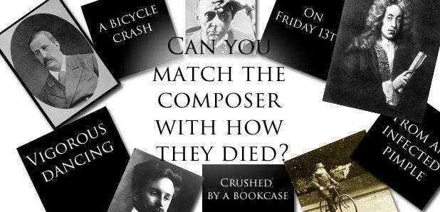 Composer death quiz