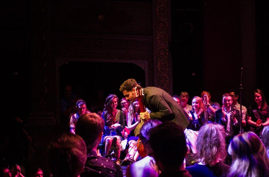 Milos at Bristol Proms