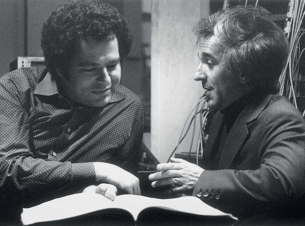 Itzhak Perlman historic photos