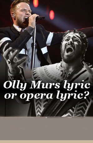 Olly or opera