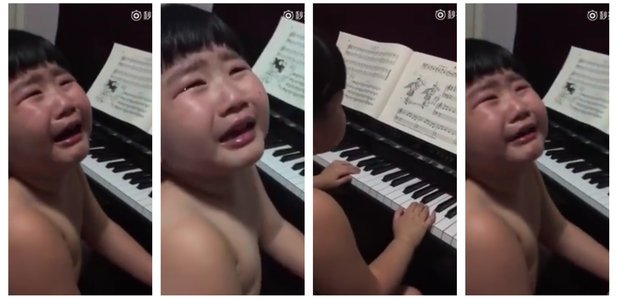 Child crying scales