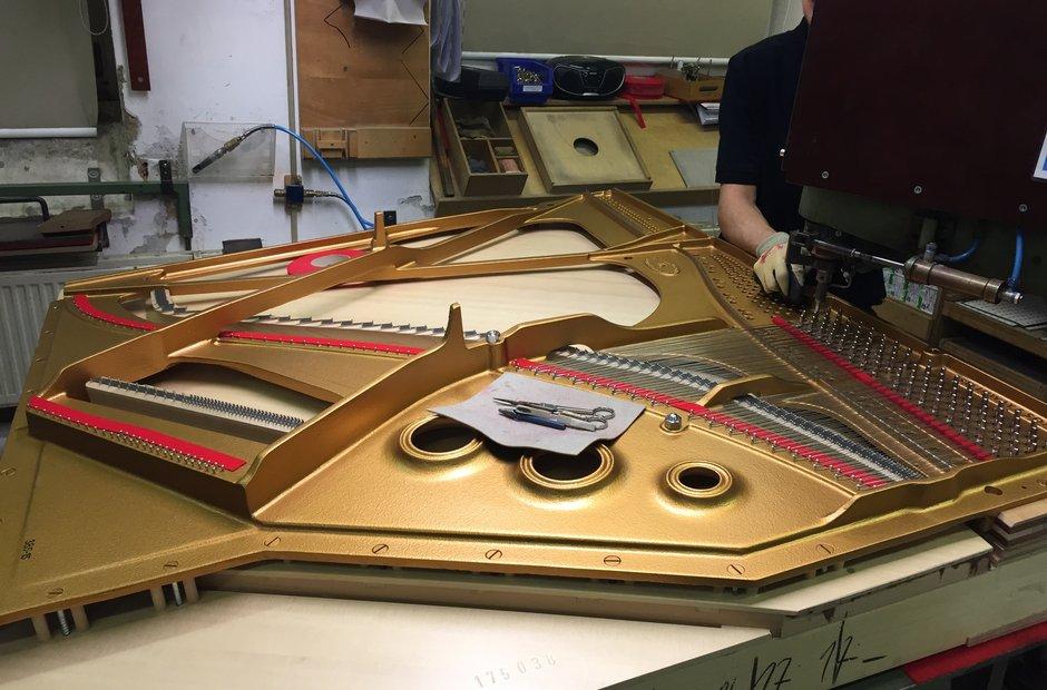 Steinway piano factory