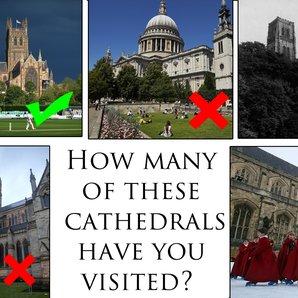 Cathedrals quiz