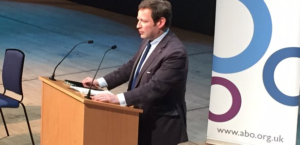 Ed Vaizey at the ABO Conference 2016