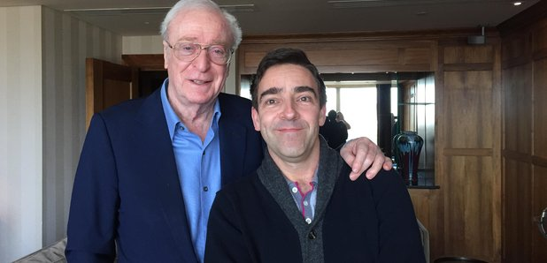 Michael Caine and Andrew Collins