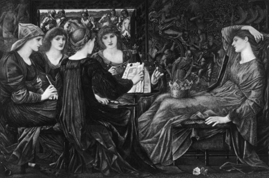 Burne Jones Laus Veneris Pre-Raphaelite