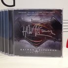 Batman v Superman soundtrack signed by Hans Zimmer