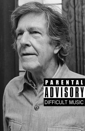 John Cage parental advisory
