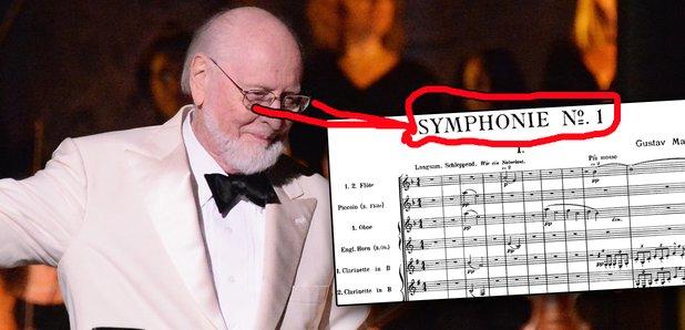 john williams star wars mahler symphony