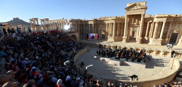 Palmyra Syria concert Gergiev